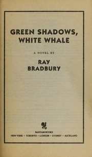 Cover of: Green shadows, white whale