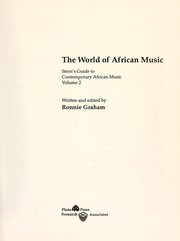 Cover of: The world of African music : Stern's guide to contemporary African music, volume 2 |