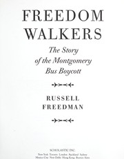 Cover of: Freedom walkers