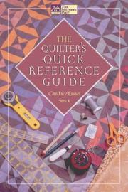 Cover of: The Quilter's Quick Reference Guide (That Patchwork Place) | Candace Eisner Strick