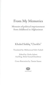 Cover of: From my memories | Kha lid S Điddi q
