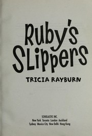 Cover of: Ruby's slippers