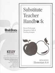 Cover of: Substitute Teacher Handbook - Elementary K-8 |