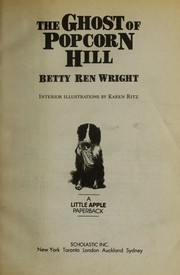 Cover of: The ghost of Popcorn Hill