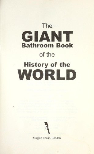 The Giant bathroom book by Geoff Tiballs