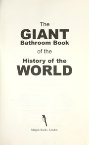 Cover of: The Giant bathroom book | Geoff Tiballs