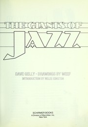 Cover of: The giants of jazz