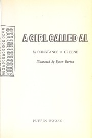 Cover of: A girl called Al | Constance C. Greene