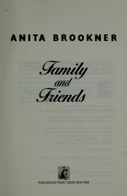Cover of: Family and friends