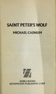 Cover of: Saint Peter's wolf