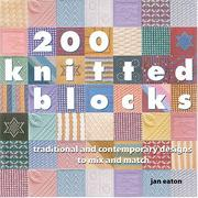 Cover of: 200 Knitted Blocks
