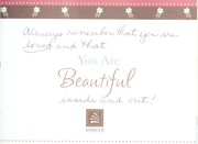Cover of: You are beautiful |