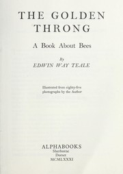 Cover of: The golden throng : a book about bees |
