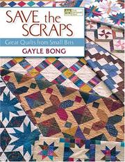 Cover of: Save The Scraps