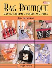 Cover of: Bag Boutique | Amy Barickman