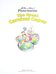 Cover of: The great carnival caper