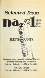 Cover of: Selected from Dazzle (Writers Voices)