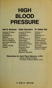 Cover of: High blood pressure