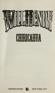 Cover of: Chiricahua