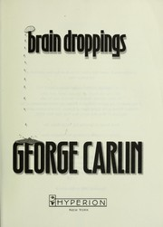 Cover of: Brain droppings