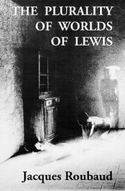 Cover of: The plurality of worlds of Lewis