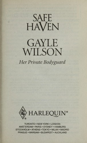 Her private bodyguard by Gayle Wilson