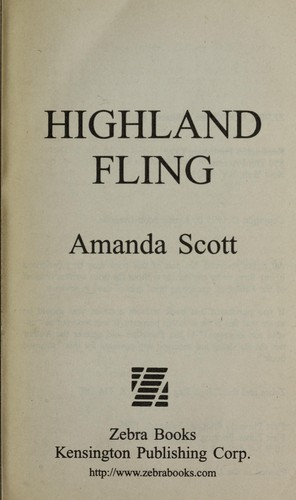 Highland fling by Amanda Scott