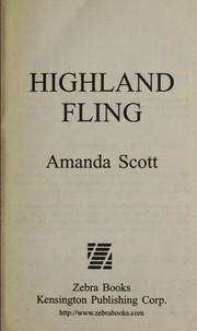 Cover of: Highland fling | Amanda Scott
