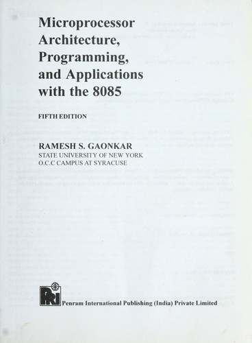 Free gaonkar download ramesh ebook microprocessor