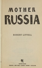 Cover of: Mother Russia: a novel