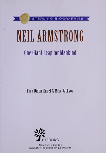 Neil Armstrong (2008 edition)   Open Library