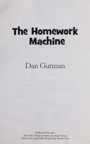 Cover of: The homework machine | Pikney