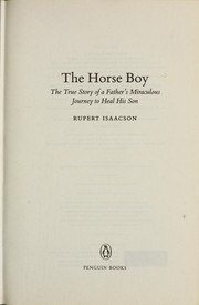 Cover of: The horse boy | Rupert Isaacson