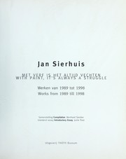 "Cover of: Jan Sierhuis ""With Paint,"" It's Always a Struggle"" 