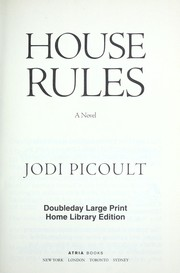 Cover of: House rules