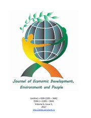 Cover of: Journal of Economic Development, Environment and People |