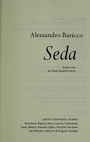 Cover of: Seda