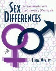 Cover of: Sex Differences | Linda Mealey