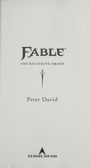 Cover of: Fable | Peter David