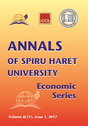 Annals of Spiru Haret University. Economic Series by Spiru Haret University