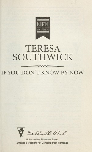 If you don't know by now by Teresa Southwick