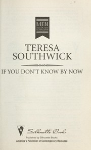Cover of: If you don't know by now | Teresa Southwick