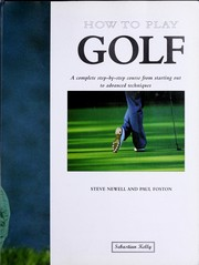 Cover of: How to play golf