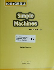 Cover of: Simple machines: forces in action