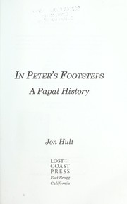 Cover of: In Peter's footsteps