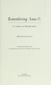 Cover of: Remembering Anna O