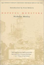 Cover of: Hopeful monsters