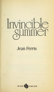 Cover of: Invincible Summer