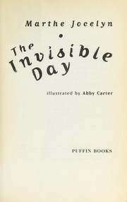 Cover of: The invisible day