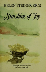 Cover of: Sunshine of joy
